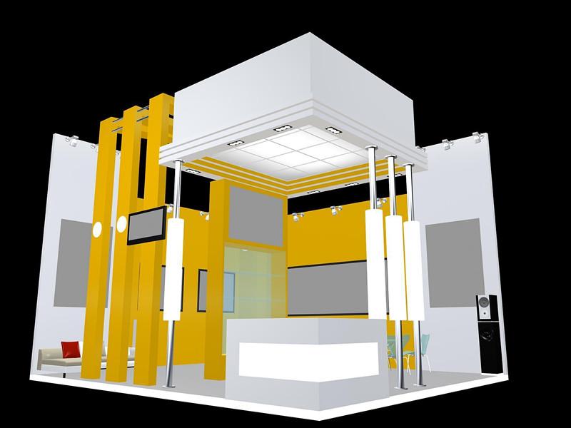 尤其对双层展台,楼梯,展台顶部向外延伸的结构等限制